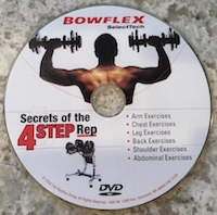 Bowflex SelectTech Secrets Of The 4 Step Rep