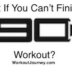 Can't Finish P90X Workout