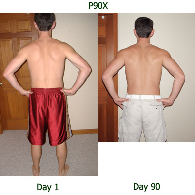 Chin Ups Before And After P90X Workout Review: L...