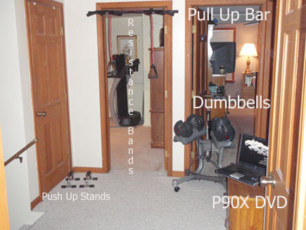 Space Needed For P90X