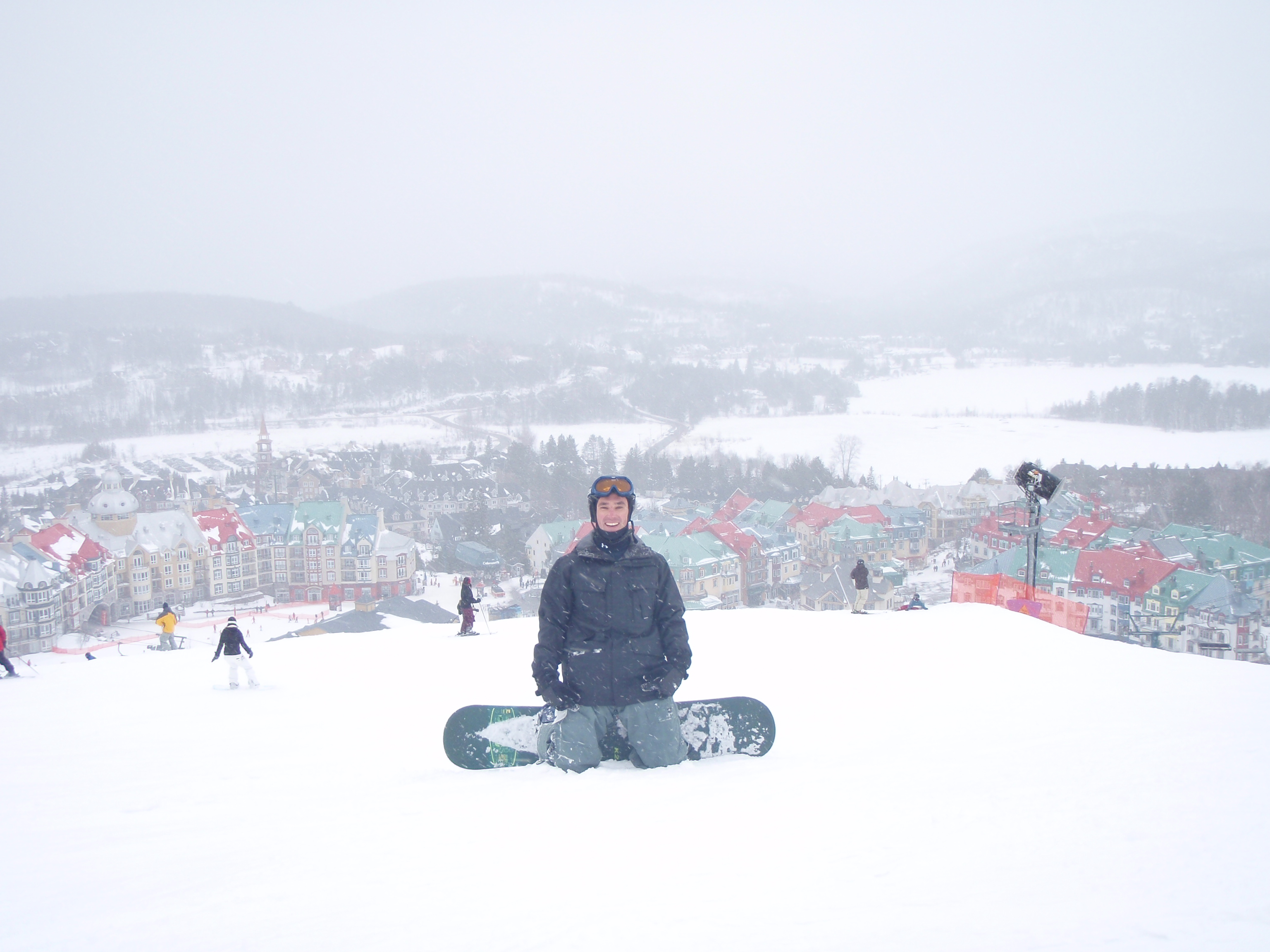 Snowboarding At Mont Tremblant In Canada