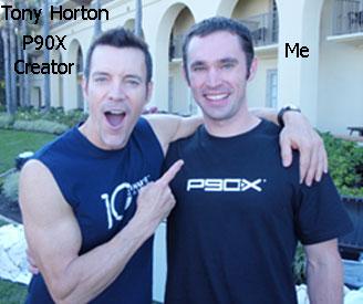Me & Tony Horton