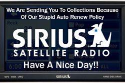 Sirius Satellite Radio Policy