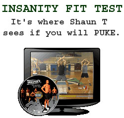 Insanity Workout Fit Test