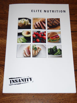 Insanity Elite Nutrition Plan