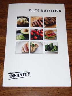 Insanity Elite Nutrition Plan