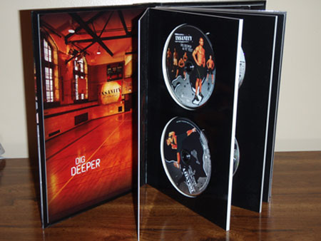 Insanity Workout DVDs Book