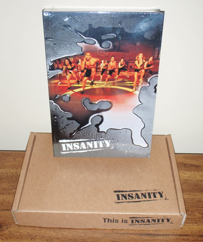 Insanity Workout DVD Cover