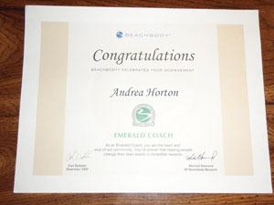 Andrea Emerald Beachbody Coach