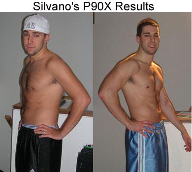 Silvano's P90X Results