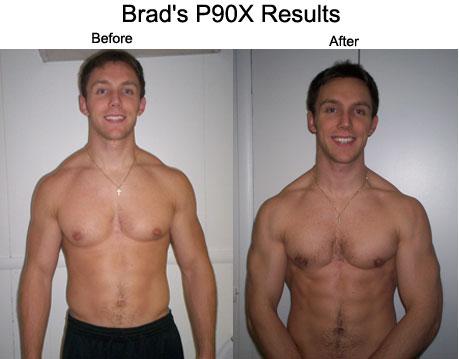 Brad P90X Results