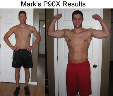 Mark's P90X Results