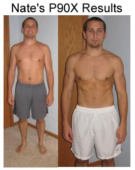 Nate's P90X Results