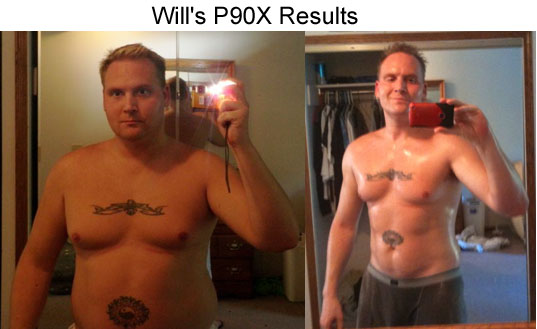Will's P90X Results