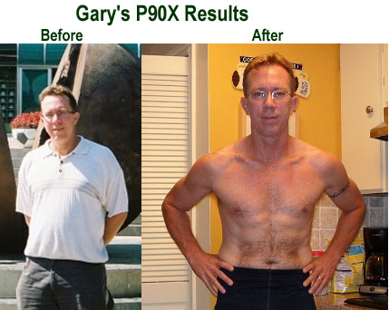 Gary's P90X Results