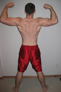 Nick P90X Results Back