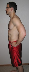 Nick P90X Results Side