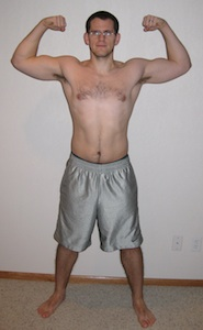 Nick P90X Before Photo Front