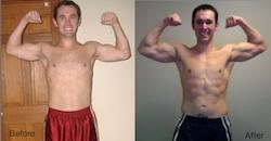 Brad P90X Transformation