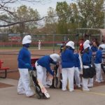 Smurfs Playing Softball