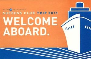 2011 Beachbody Coach Success Club Cruise