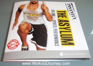 Insanity Asylum Workout Guide Book