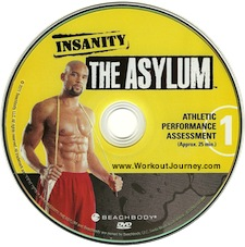 Insanity Asylum Workout Fit Test