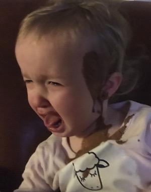 2 Year Old Dumping Shakeology On Head