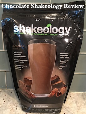 Chocolate Shakeology Review