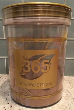 Shakeology 365er 2 Year Storage Canister