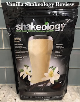 Vanilla Shakeology Review