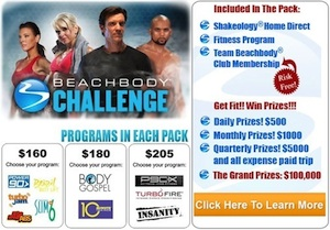 Beachbody Challenge Packs