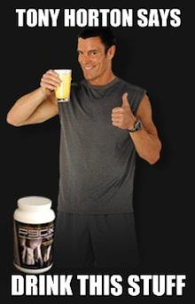 Tony Horton P90X Recovery Drink