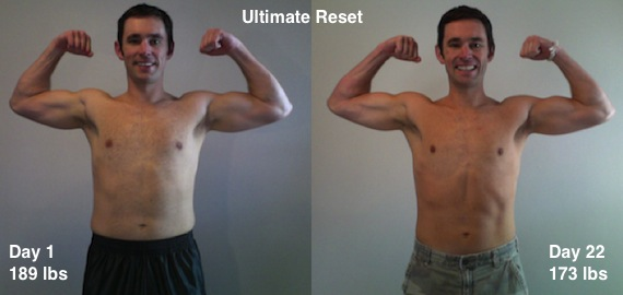 Beachbody Ultimate Reset Before After Photo