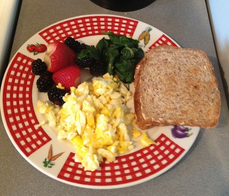 Day 1 Ultimate Reset Breakfast