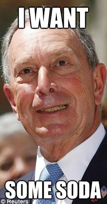 Michael Bloomberg Soda Ban