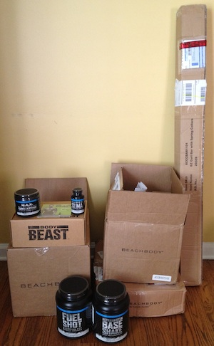 Body Beast Workout Delivery