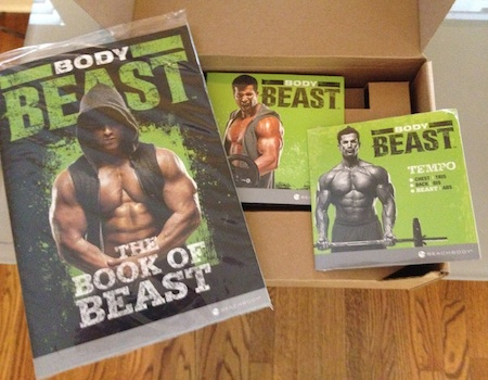 Body Beast Workout Packaging