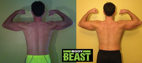 Body Beast Before After Back