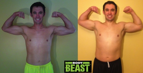 Body Beast Before After Front