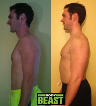 Body Beast Before After Side