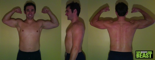 Body Beast Bulk Phase Results