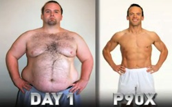 P90X Success Story Overweight People