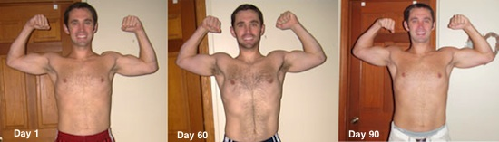 P90X Results Round 1