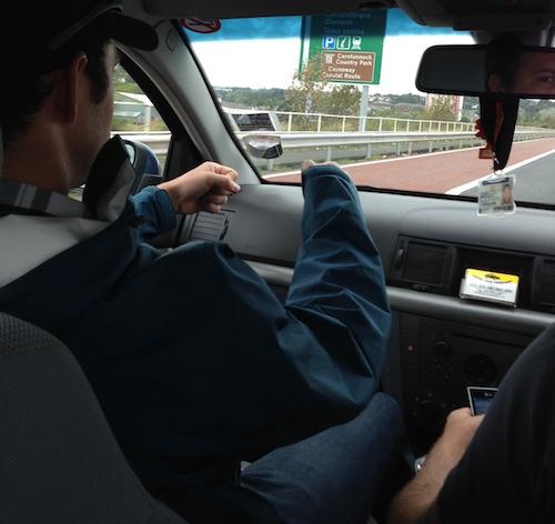 Cab Ride Northern Ireland