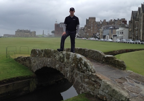 Swilcan Bridge St Andrews