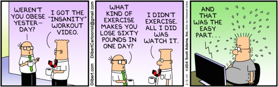 Dilbert Insanity Workout