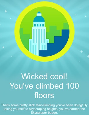 Fitbit Skyscraper Badge