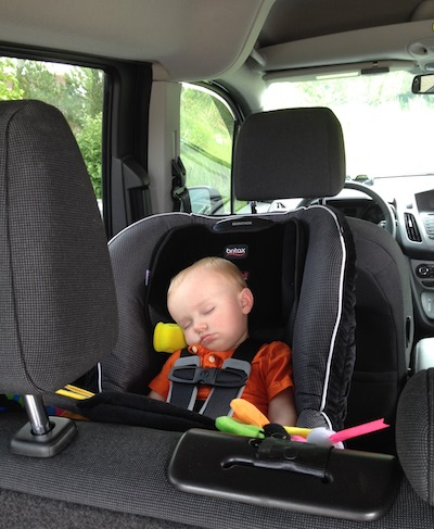 Baby Car Seat 2015 Ford Transit Connect Wagon