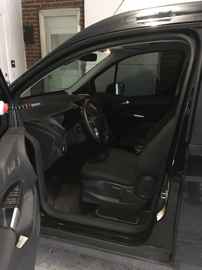 Front Seat 2015 Ford Transit Connect Wagon